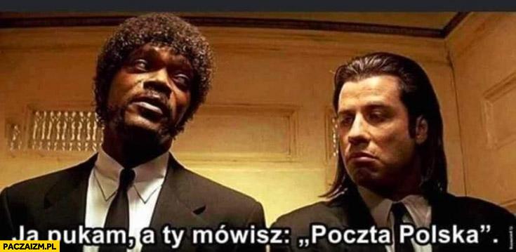 Pulp Fiction ja pukam Ty mówisz Poczta Polska wybory korespondencyjne