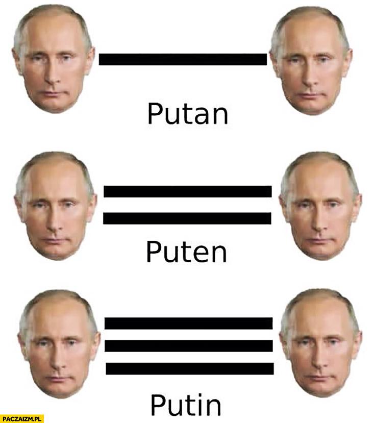 Putan Puten Putin
