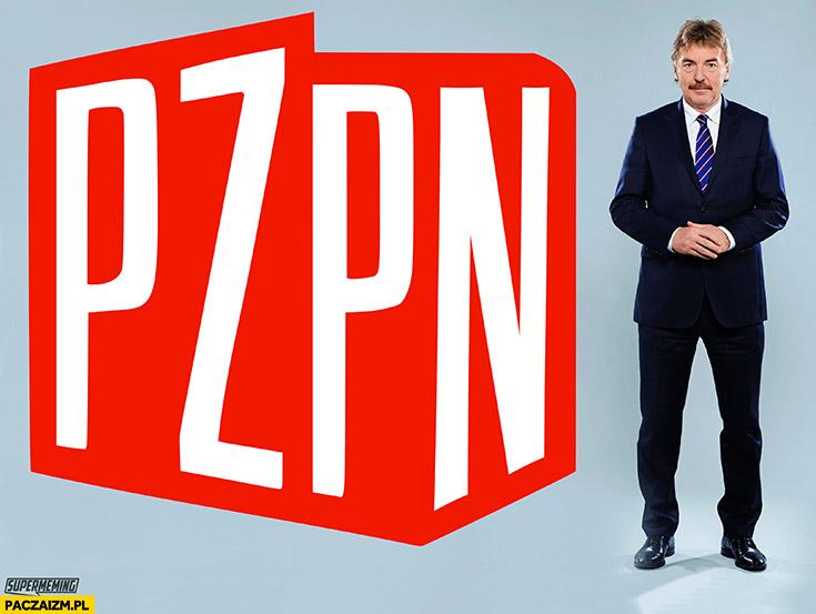 PZPN PZPR logo przeróbka Boniek