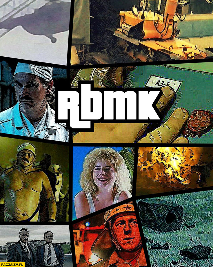 RBMK reaktor Czarnobyl GTA Grand Theft Auto przeróbka