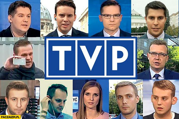 Redaktorzy TVP twarze redakcja TVPiS Telewizja Polska
