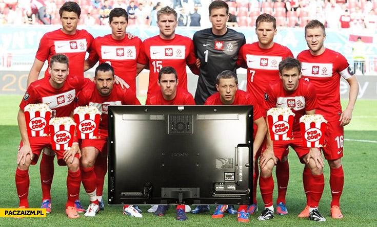 Reprezentacja Polski na mundialu przed TV