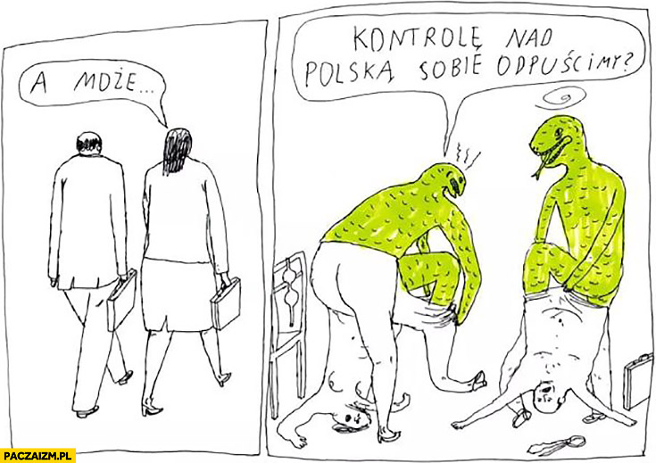 Reptilianie a może kontrolę nad Polską sobie odpuścimy? Janek Koza