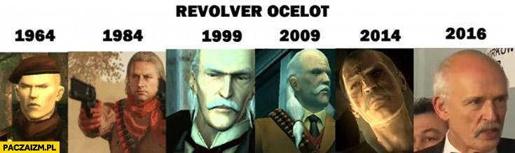 Revolver Ocelot Janusz Korwin-Mikke Metal Gear Solid