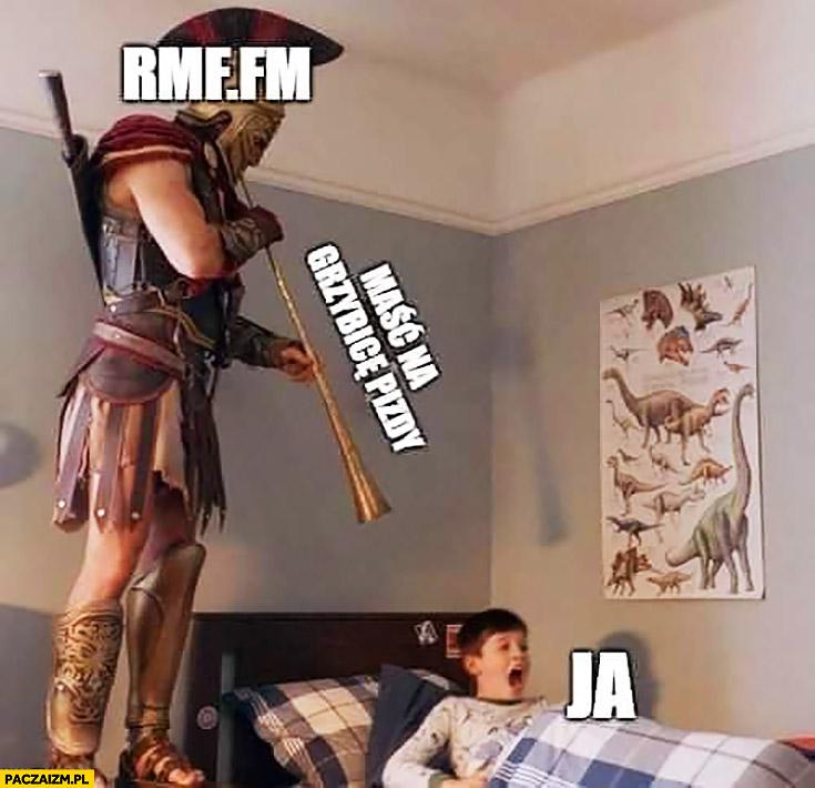 RMF FM maść na grzybicę budzi dziecko ja