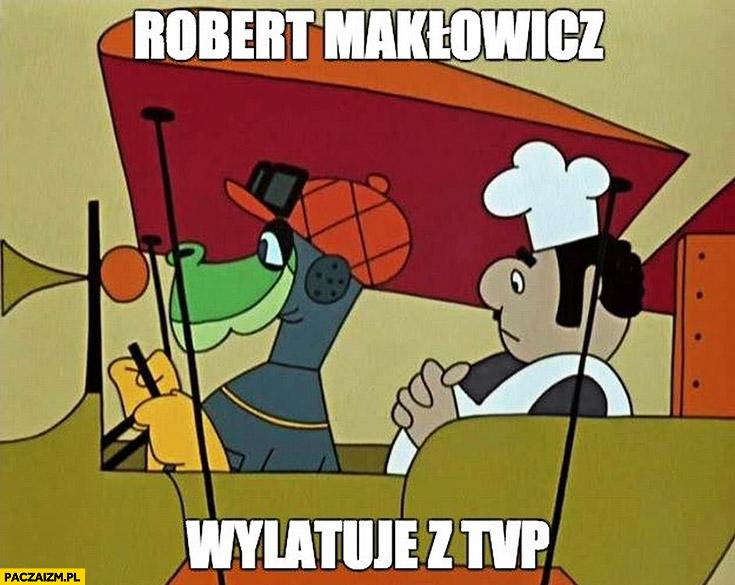 Robert Makłowicz wylatuje z TVP Baltazar Gąbka