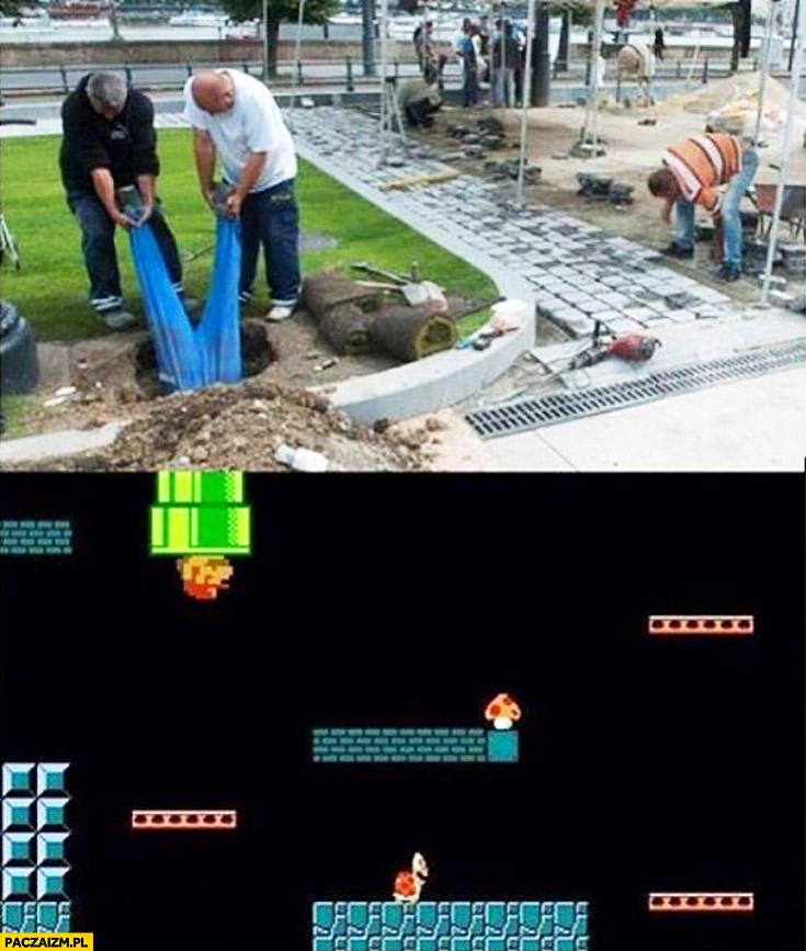 Robotnik do kanału Mario Bros