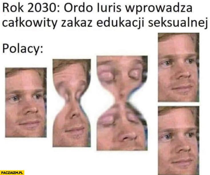 Rok 2030 ordo iuris wprowadza całkowity zakaz edukacji seksualnej, Polacy rozmnażają się przez podział