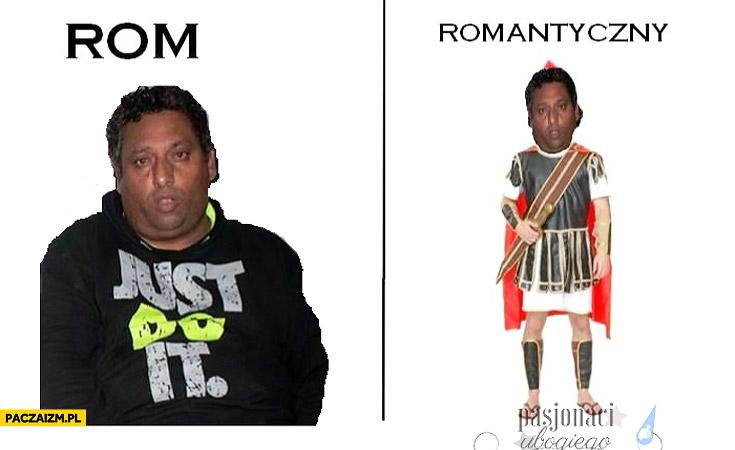 Rom romantyczny rom antyczny