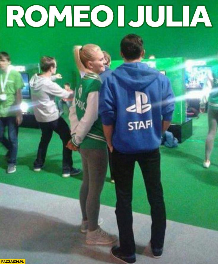 Romeo i Julia w dzisiejszych czasach XBox PlayStation obsługa