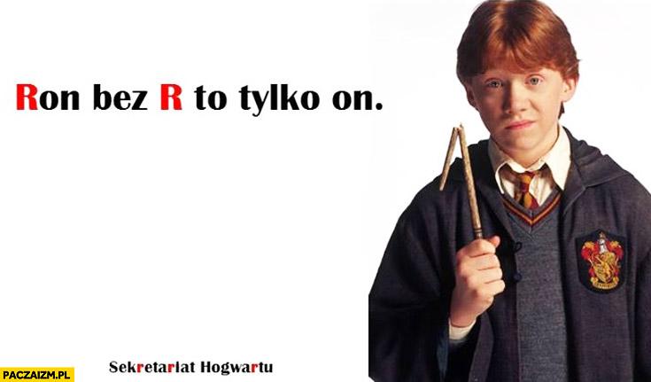 Ron bez R to tylko on reklama Żywiec