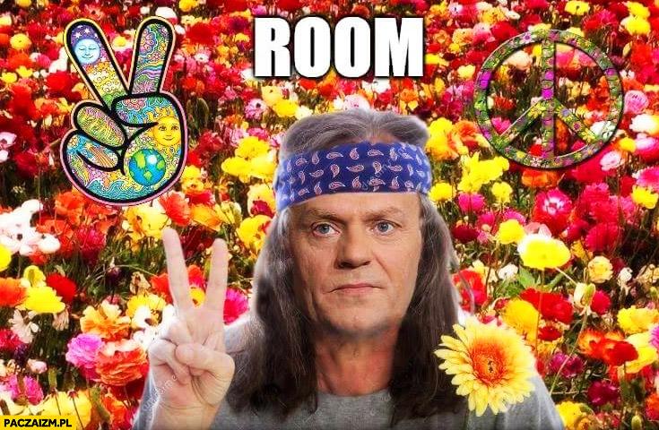 Room peace pokój Donald Tusk angielski z Tuskiem