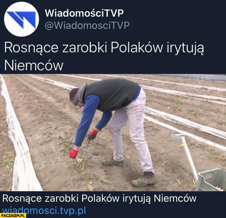 Rosnące zarobki Polaków irytują Niemców wiadomości tvpis