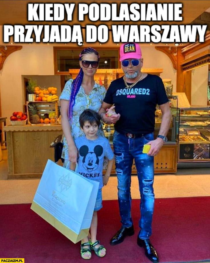 Rutkowski kiedy Podlasianie przyjadą do Warszawy