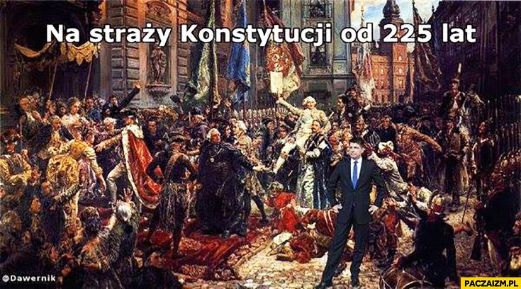 Ryszard Petru na straży konstytucji od 225 lat 3 maja