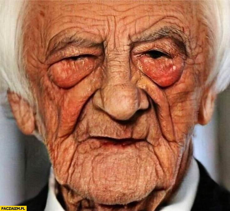 Ryszard Terlecki stary postarzony przeróbka photoshop
