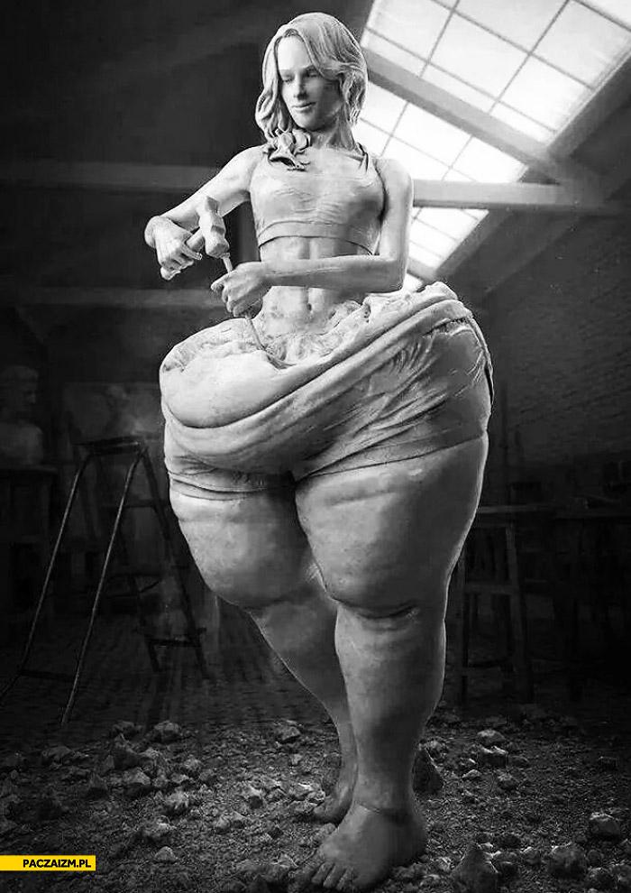 Rzeźba chudnięcie