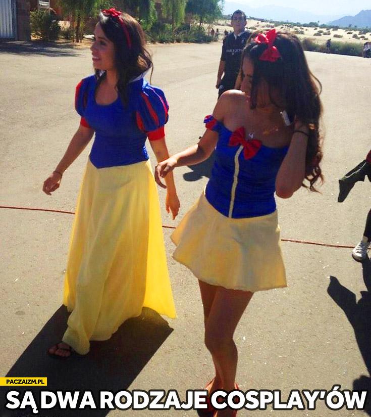 Są dwa rodzaje cosplayów