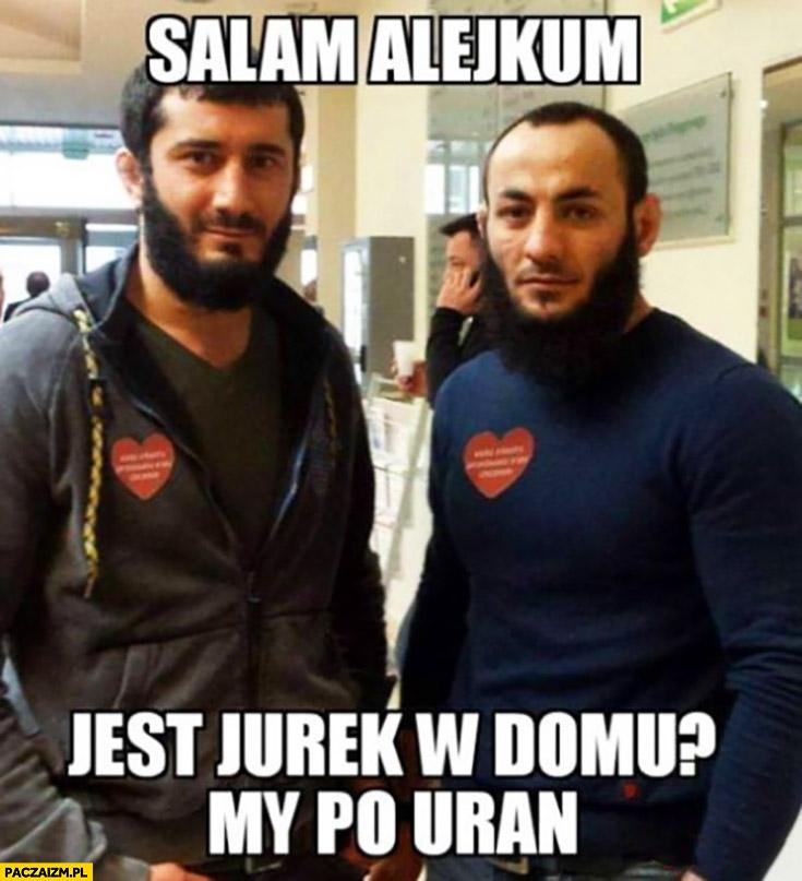 Salam alejkum jest Jurek w domu? My po uran Czeczeni WOŚP Mamed Khalidov