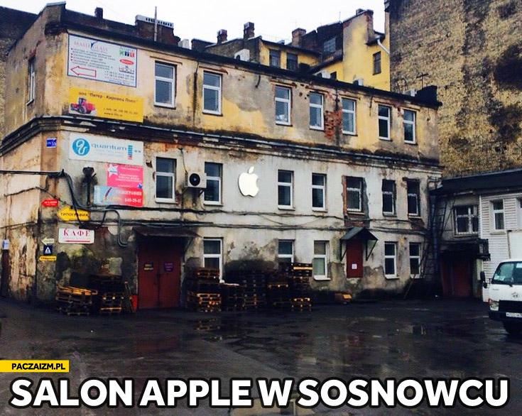 Salon Apple w Sosnowcu
