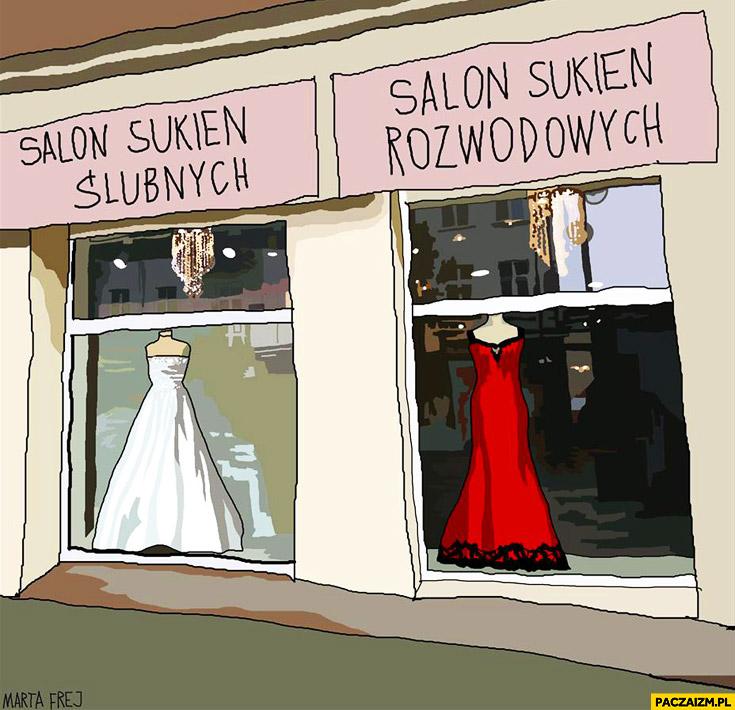 Salon sukien ślubnych rozwodowych