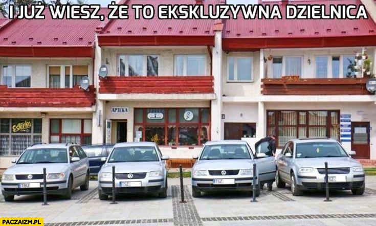 Same Passaty i już wiesz, że to ekskluzywna dzielnica Volkswagen
