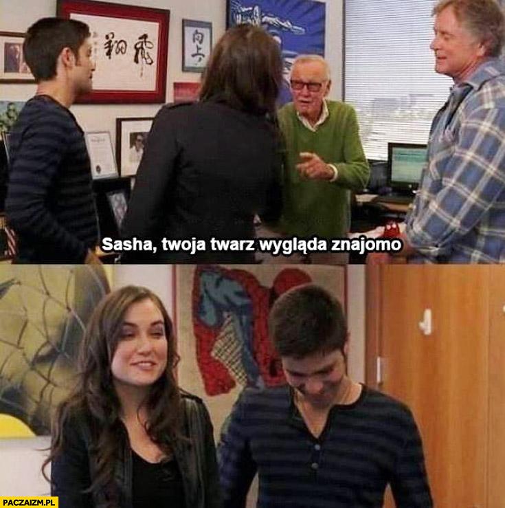Sasha Twoja twarz wygląda znajomo Sasha Grey