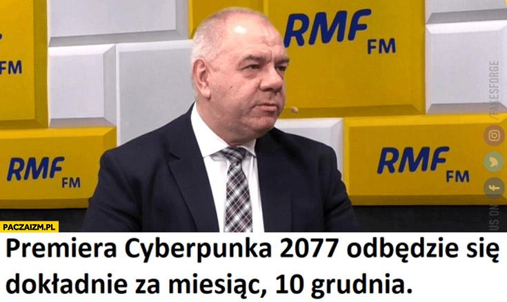 Sasin premiera cyberpunka 2077 odbędzie się dokładnie za miesiąc 10 grudnia