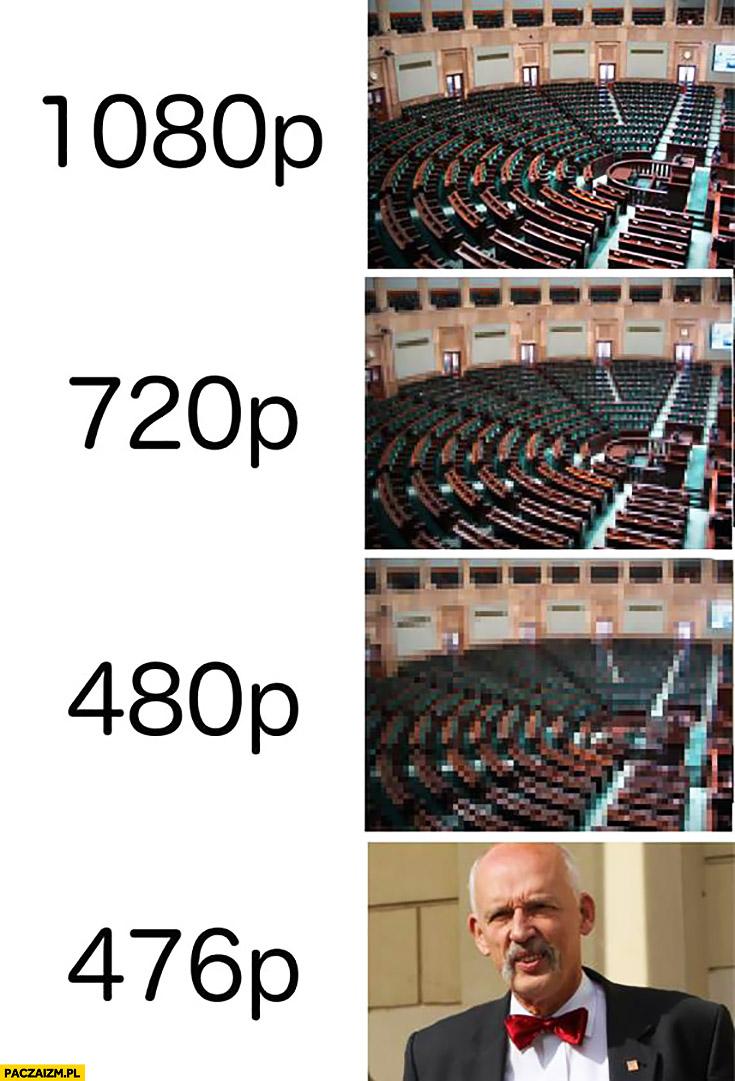 Sejm 1080p 720p 480p 476p Korwin