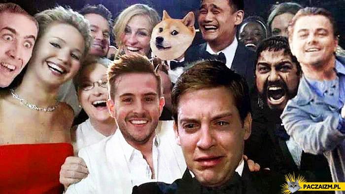 Selfie Oskary po poprawce