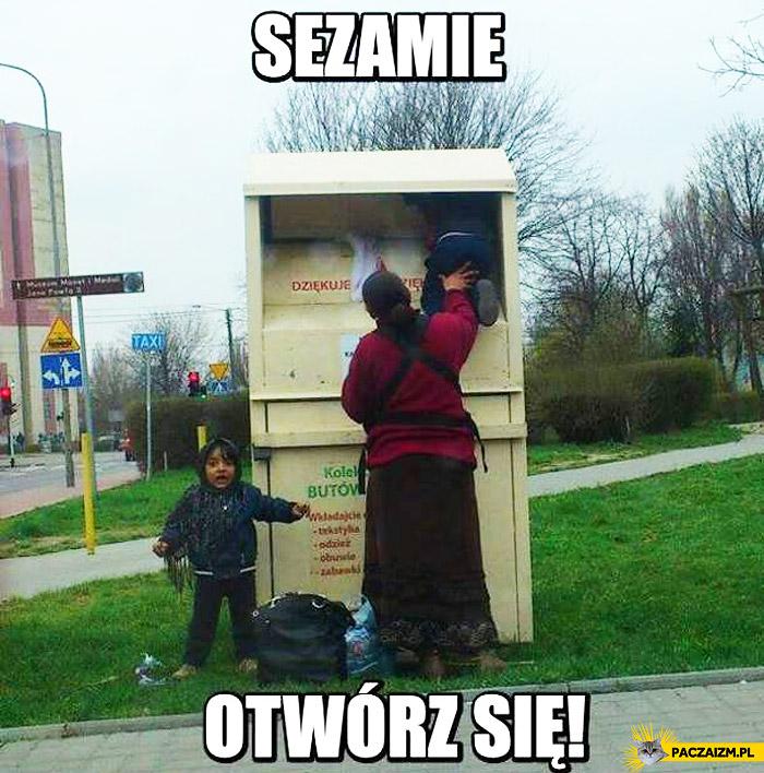 Sezamie otwórz się cyganka