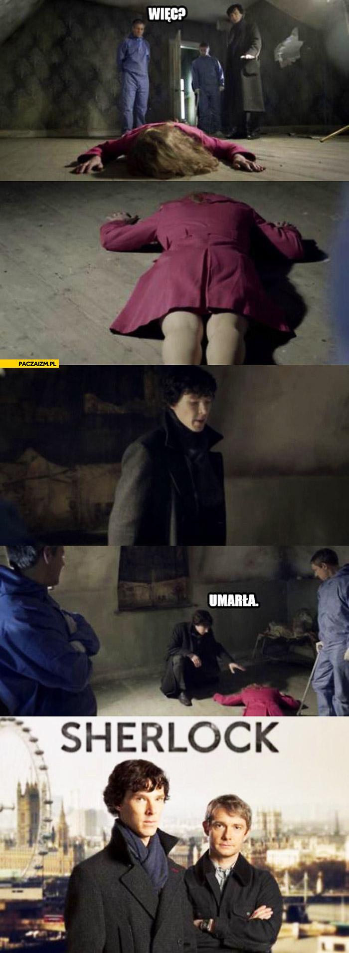 Sherlock umarła