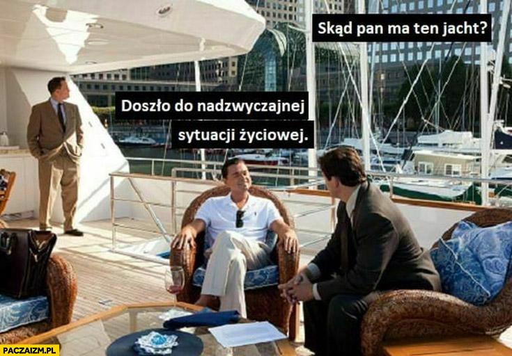 Skąd ma pan ten jacht? Doszło do nadzwyczajnej sytuacji życiowej PiS DiCaprio wilk z wallstreet