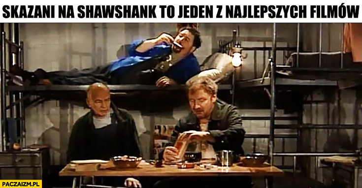 Skazani na Shawshank to jeden z najlepszych filmów Kiepscy Świat według Kiepskich