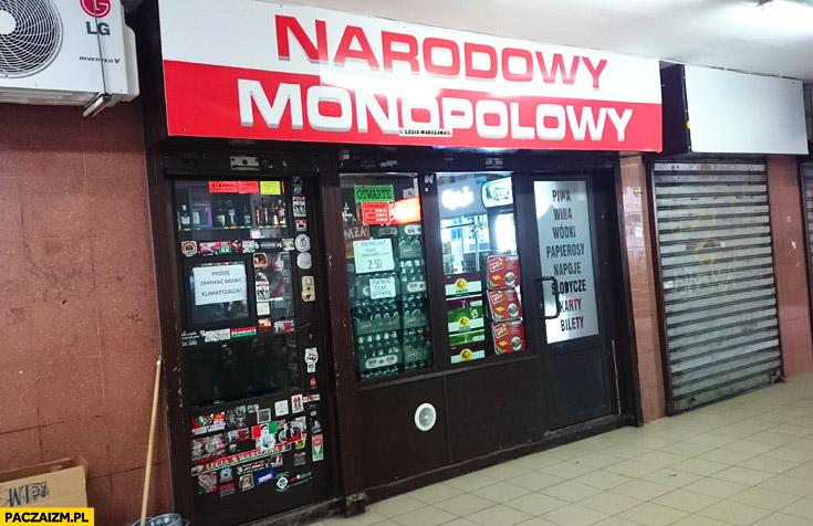 Sklep narodowy monopolowy