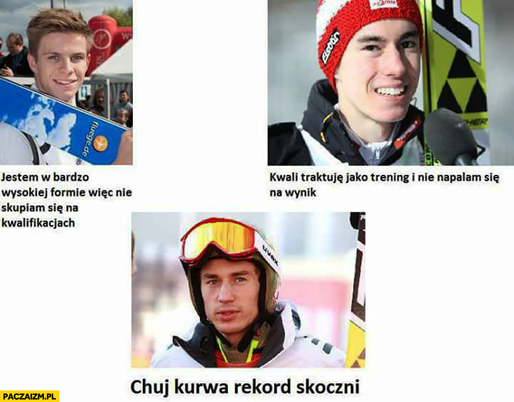 Skoczkowie narciarscy Stoch kij kurna rekord skoczni w kwalifikacjach eliminacjach