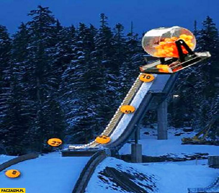 Skoki narciarskie losowanie ruletka totolotek lotto