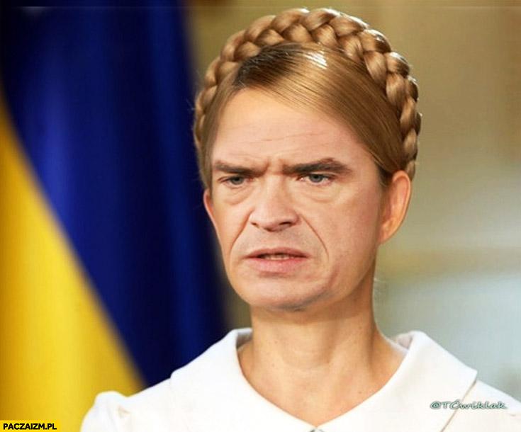 Sławomir Nowak Julia Tymoszenko face swap przeróbka obywatelstwo Ukraińskie