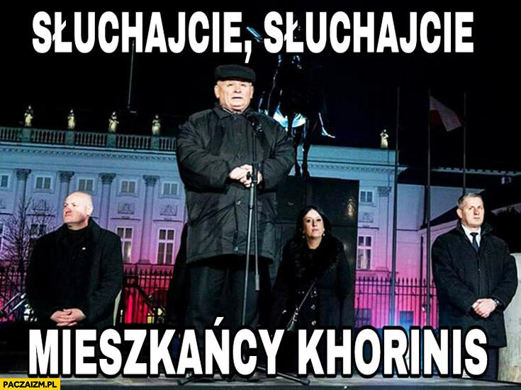 Słuchajcie, słuchajcie mieszkańcy Khorinis Kaczyński