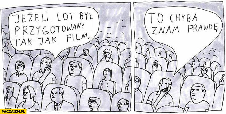 Smoleńsk jeżeli lot był przygotowany tak jak film to chyba znam prawdę