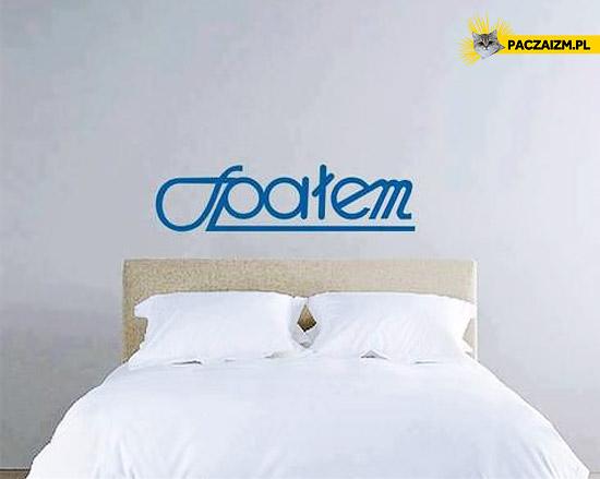 Spałem – przeróbka logo społem