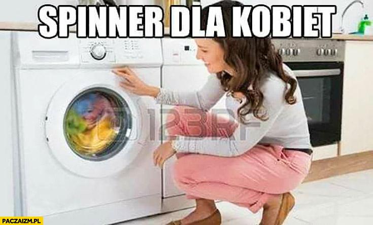 Spinner dla kobiet pralka Fidget spinner