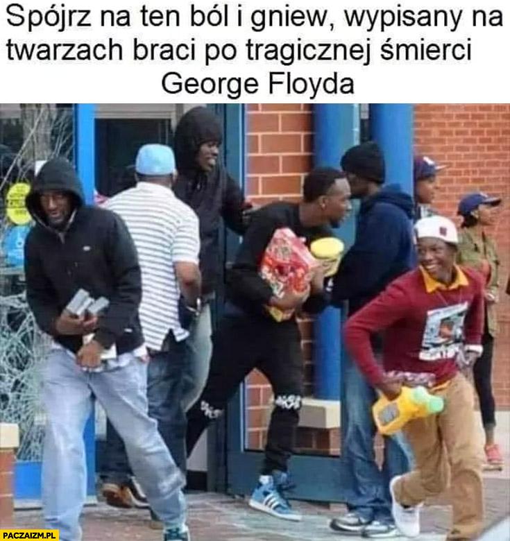 Spójrz na ten ból i gniew wypisany na twarzach braci po tragicznej śmierci George'a Floyda