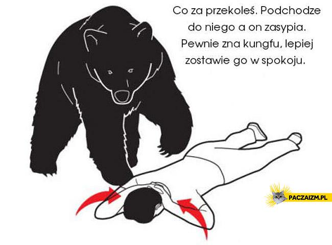 Sposób na atak niedźwiedzia