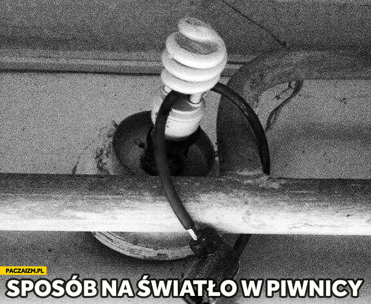 Sposób na światło w piwnicy
