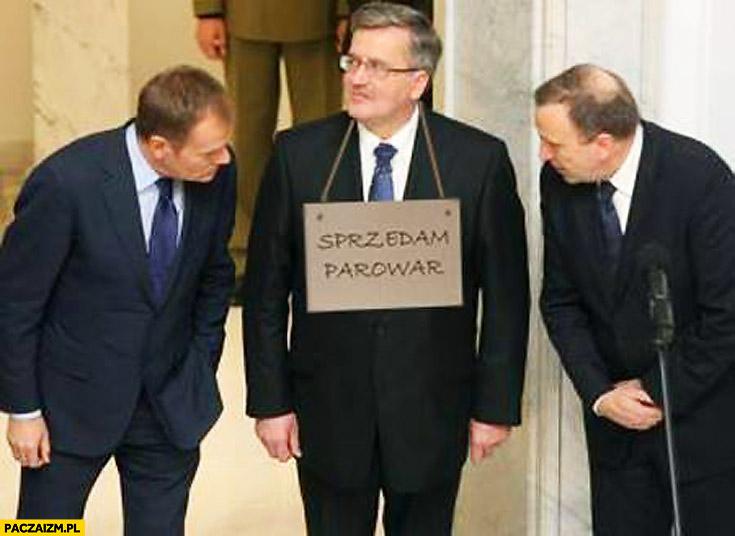 Sprzedam parowar Bronek Komorowski