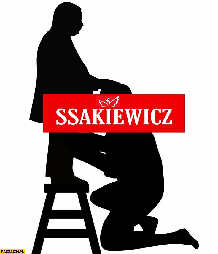 Ssakiewicz przeróbka satyra Kaczyński