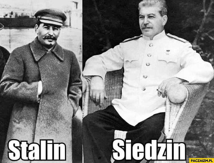 Stalin siedzin
