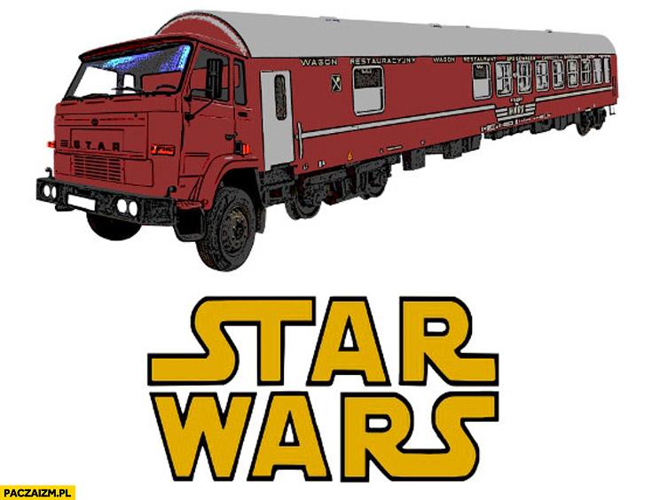 Star Wars ciężarówka wagon