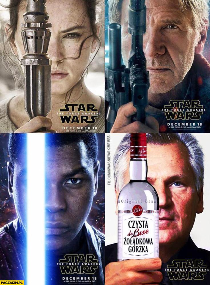 Star Wars plakat Kwaśniewski wódka gorzka żołądkowa